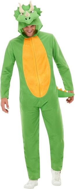 Dinosaur Costume, Adult Unisex Fancy Dress, Medium