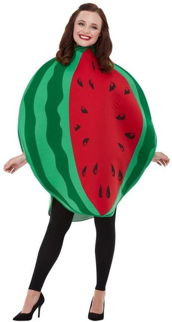 Watermelon Costume, Adult Unisex Fancy Dress, One Size