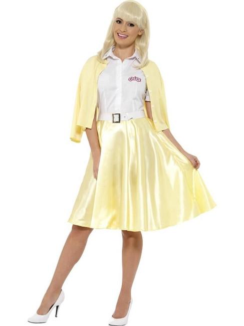 Grease Good Sandy Costume, Large, Fancy Dress, Womens, UK 16-18
