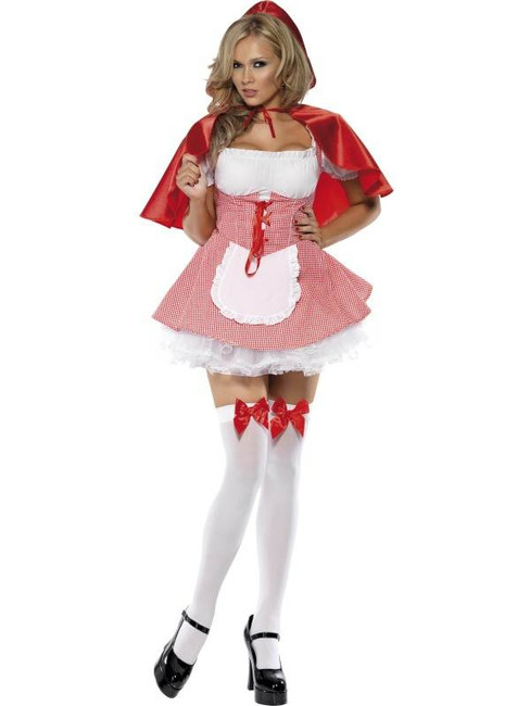 Fever Riding Hood Costume, UK Dress 8-10