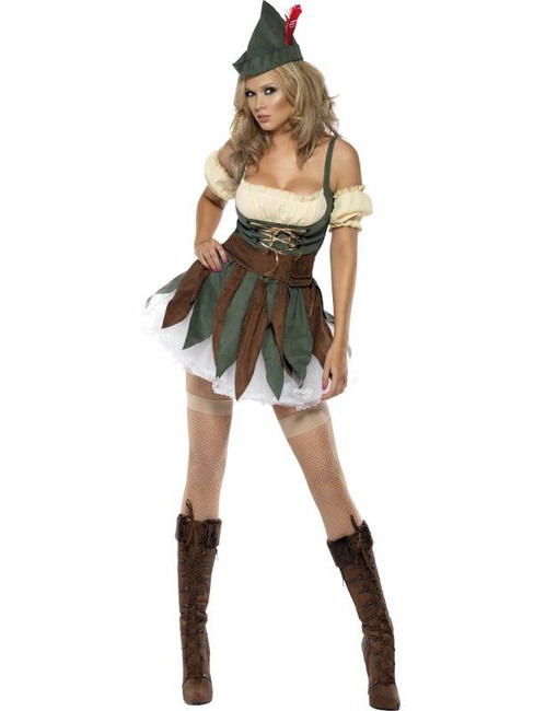 Fever Sexy Outlaw Costume, UK Dress 4-6