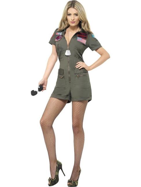 Top Gun Aviator Costume, Small