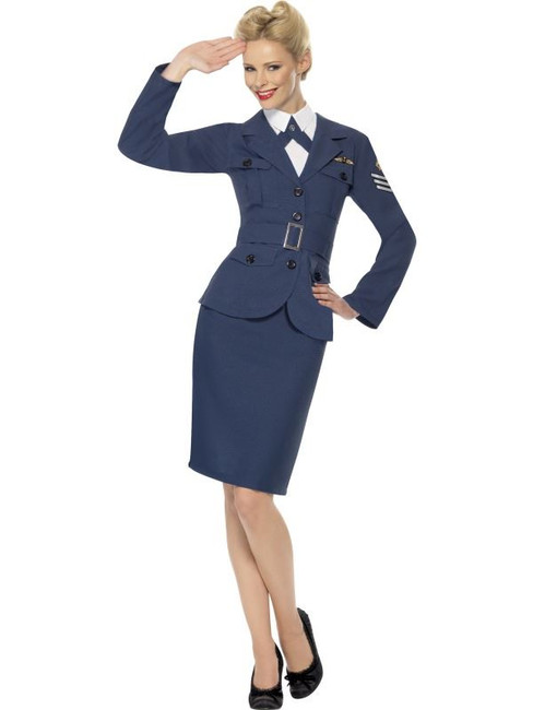 WW2 Air Force  Captain, UK Dress 12-14