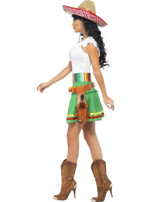 Tequila Shooter Girl Costume, UK Dress 4-6