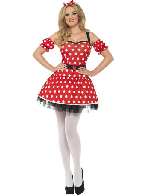 Madame Mouse Costume, UK Dress 12-14