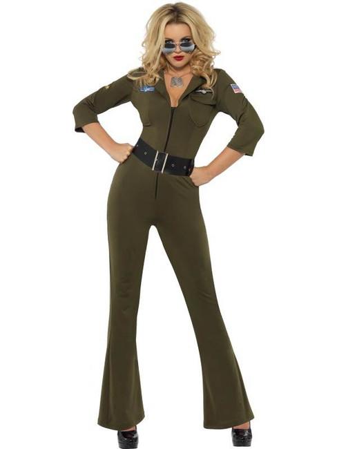 Top Gun Aviator, UK Dress 8-10