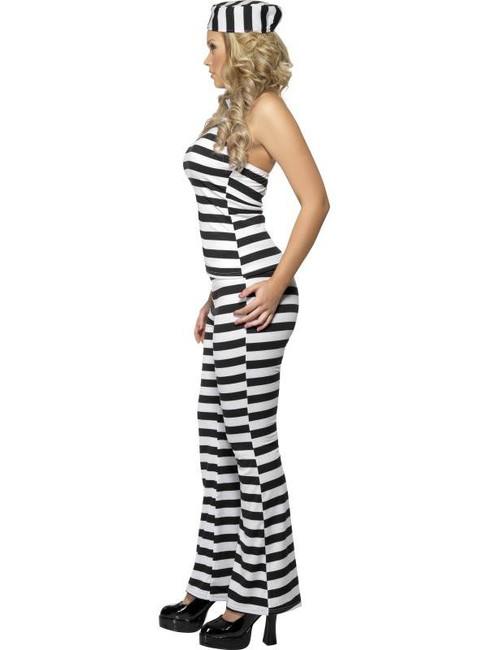Convict Cutie Costume, UK Dress 12-14