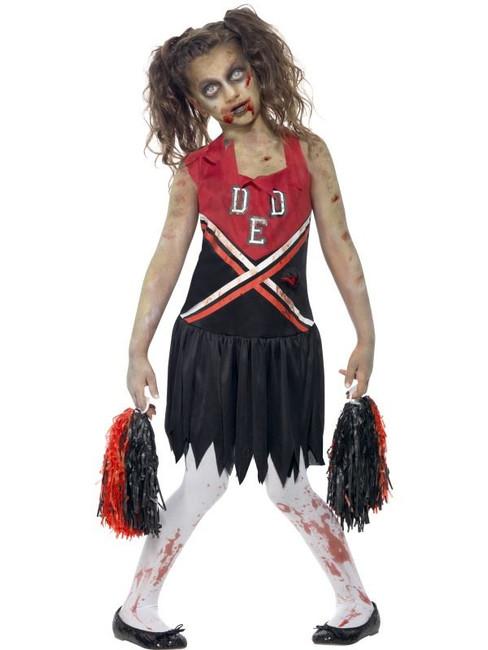 Zombie Cheerleader Costume, Teen