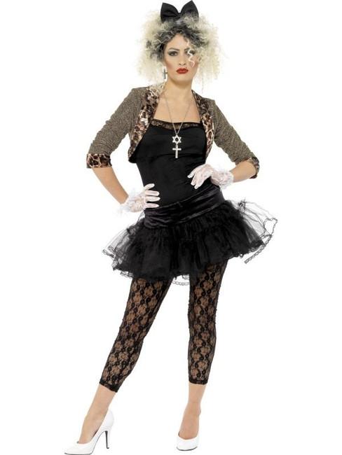 80s Wild Child Costume, UK Dress 20-22