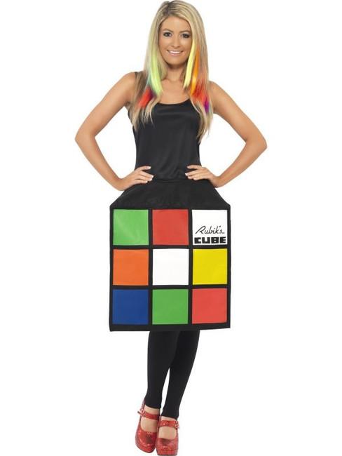 Rubik's Cube Costume, UK Dress 16-18