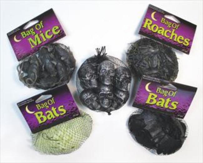 Creepy Creatures, Bag of 15 Glow in the Dark Bats