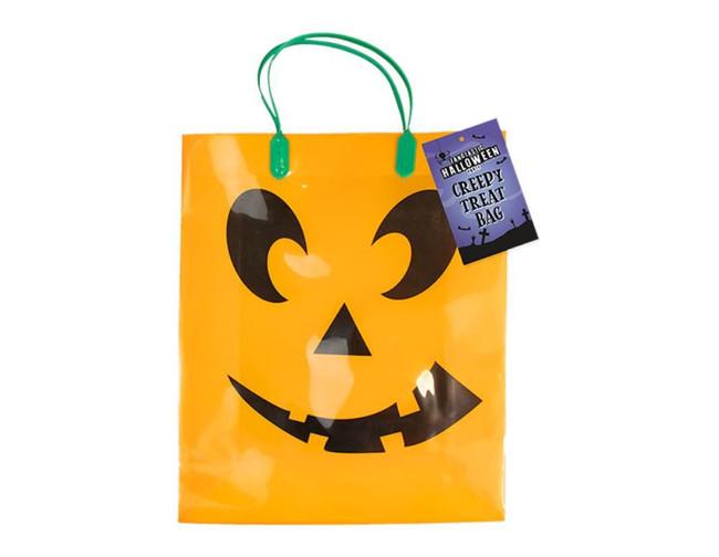 Halloween Trick or Treat Loot Bag, Orange Pumpkin