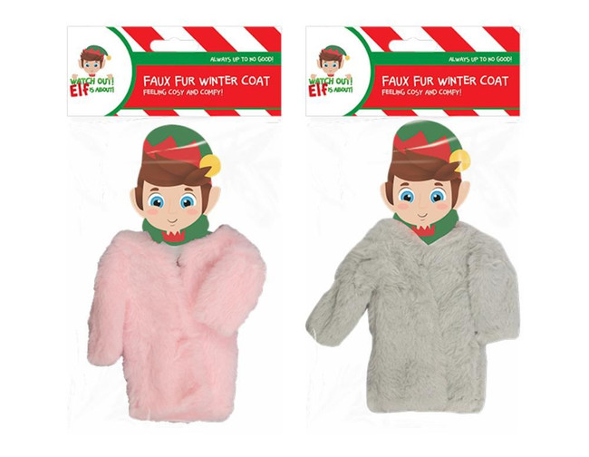 Elf Faux Fur Winter Coat