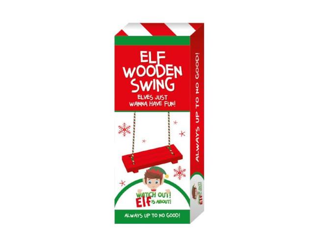 Elf Wooden Swing