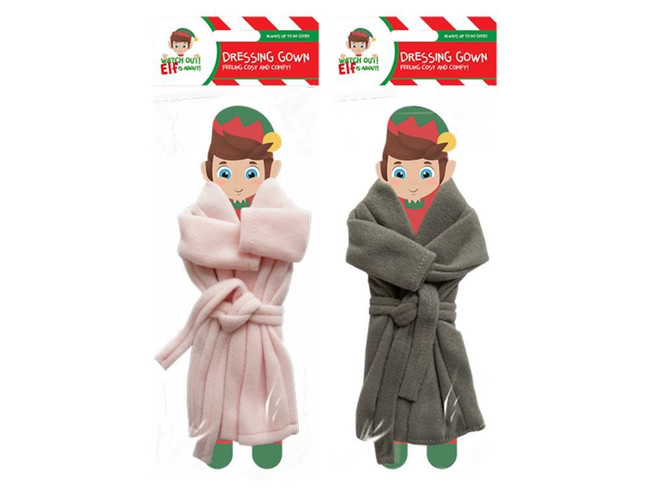 Elf Dressing Gown, 2 Pack