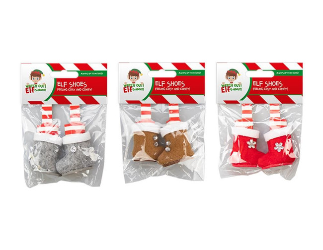 Elf Shoes, 3 Pack