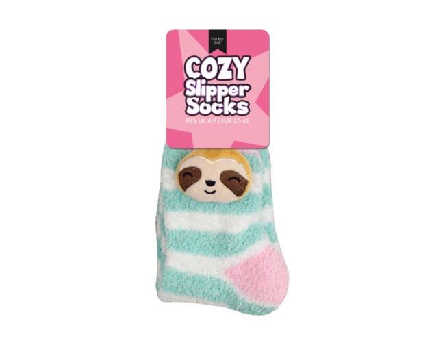 Ladies Novelty Slipper Socks, Sloth