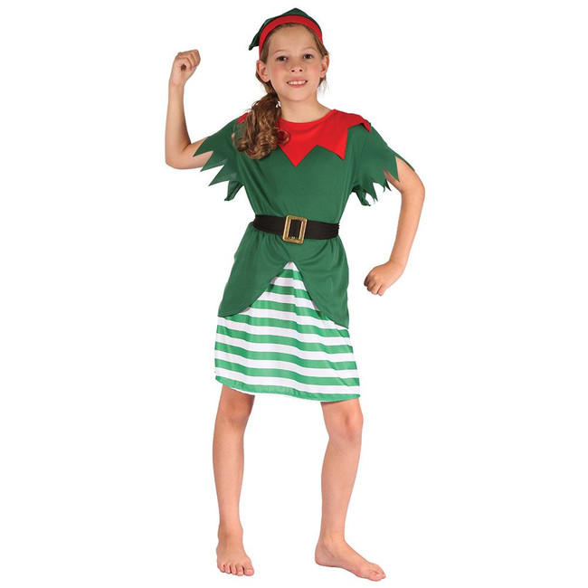 Santa Helper Girl , Large