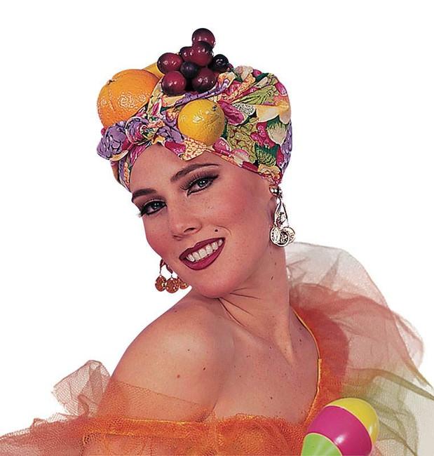 Fruit Carmen Miranda Style Headpiece.