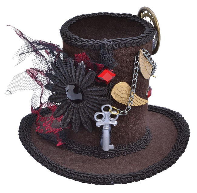 Steampunk Tall Top Hat (Mini)