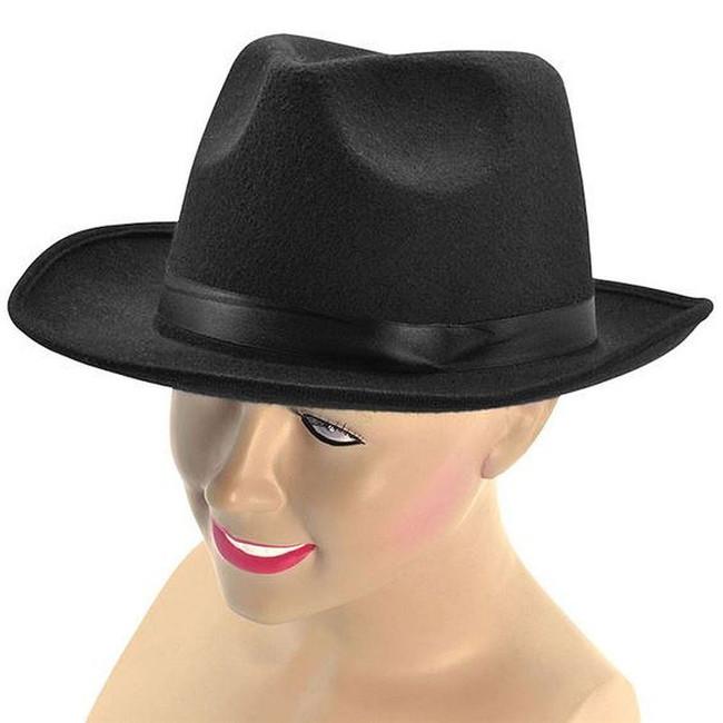 Gangster Hat, Wool Felt