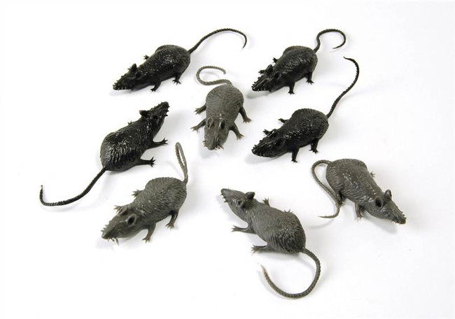 Scary Stuff Mice. (8/Pkt).