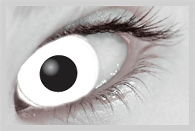 Xtreme Eyez. 1 Day Lens. White Out