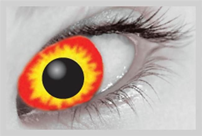 Xtreme Eyez. 1 Day Lens. Wild Fire