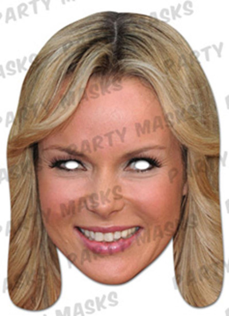 Amanda Holden Celebrity Face Card Mask