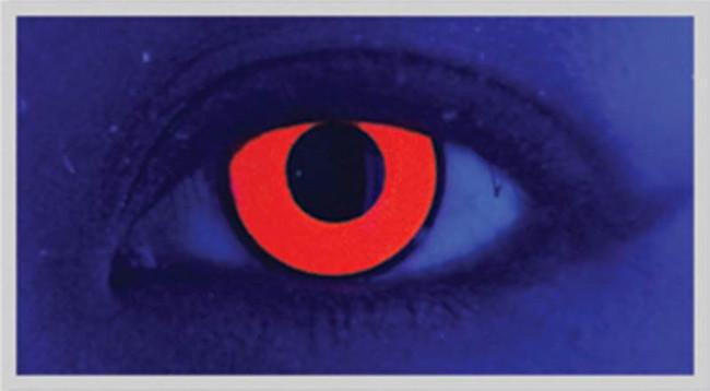 Xtreme Eyez. 1 Day Lens. UV Vino Red