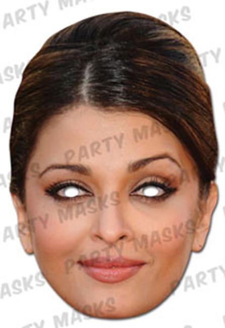 Aishwarya Rai Bachchan Celebrity Face Card Mask