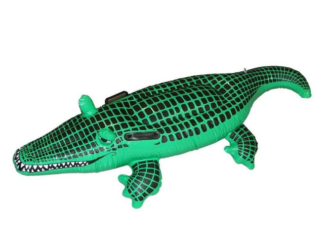 Inflatable Crocodile 145cm.