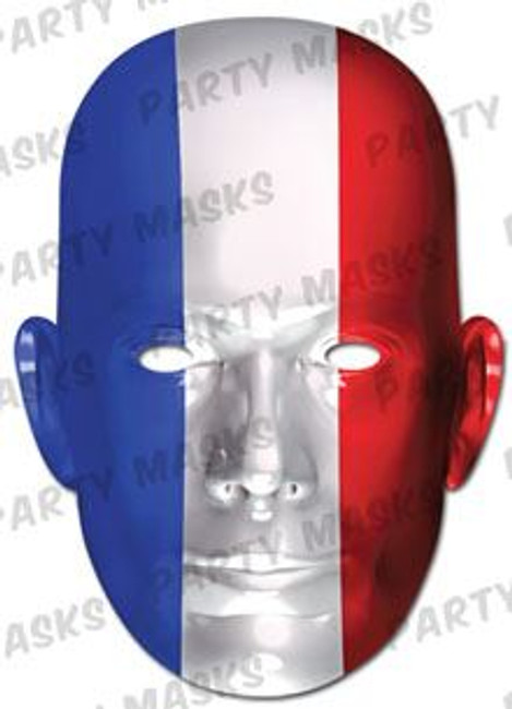 France Flag Card Mask