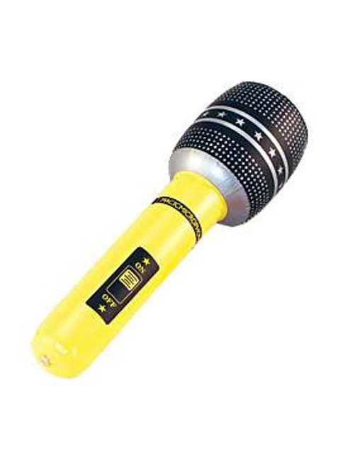 "Inflatable Microphone 18"" ."
