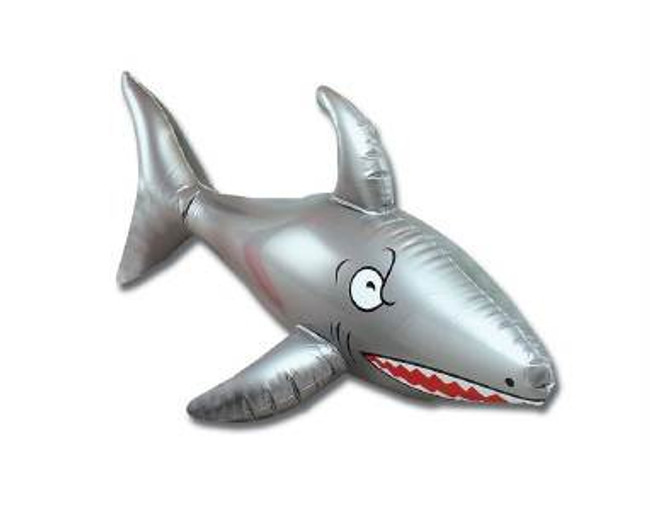 "Inflatable Shark 24""."