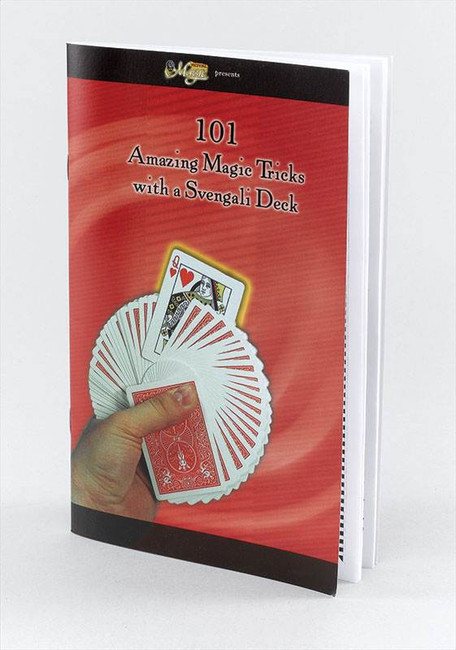 101 Magic Tricks Book For S/Deck.