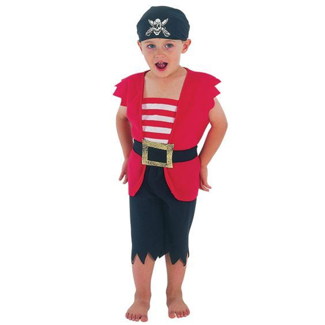 Pirate Boy Toddler, 90-104cm.