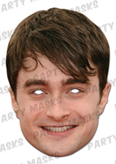 Daniel Radcliffe Face Card Mask