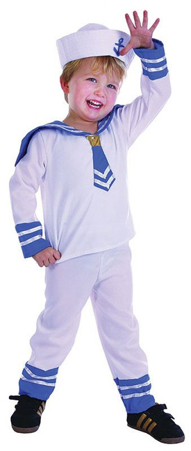 Sailor Boy Toddler.  90-104cm.