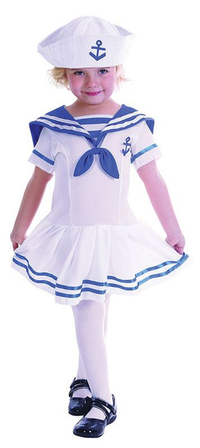 Sailor Girl Toddler.  90-104cm.