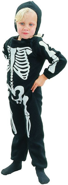 Skelton Boy Toddler Costume.  90-104cm.
