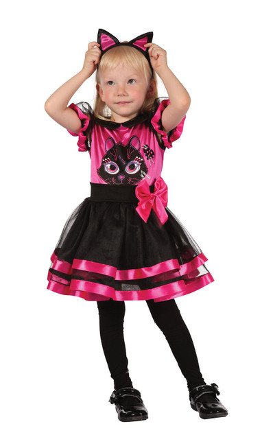 Pink Kitty. Toddler, Childrens Fancy Dress Costume