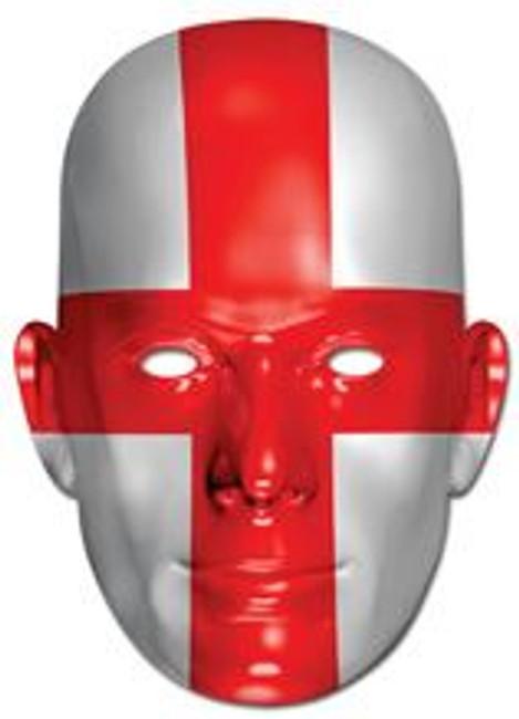 England Flag Card Mask