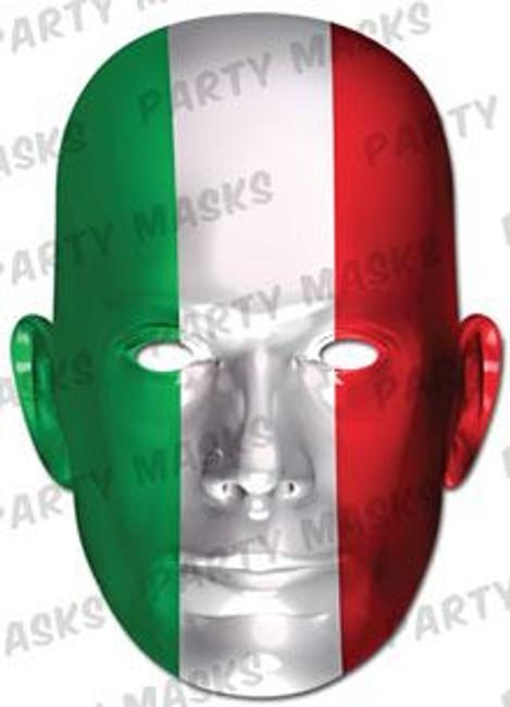 Italy Flag Card Mask