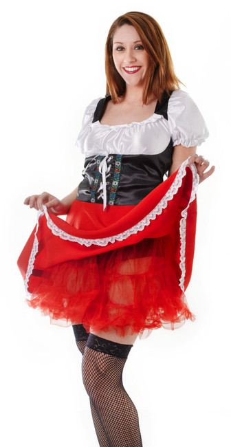 Red Petticoat/Crinoline Underskirt.