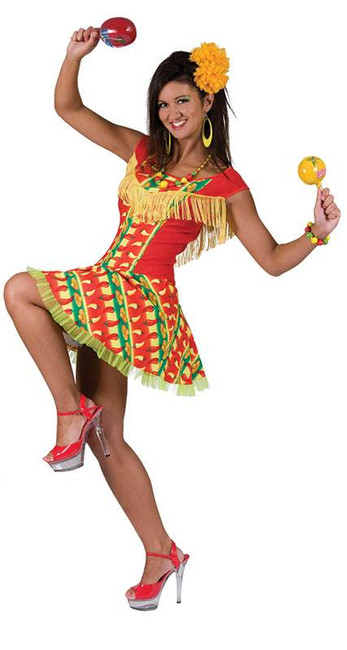 Mexican Lady Dress.