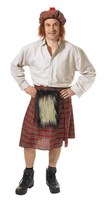 Scots Kilt and Hat.
