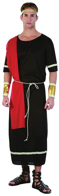 Caesar Costume, Black Toga