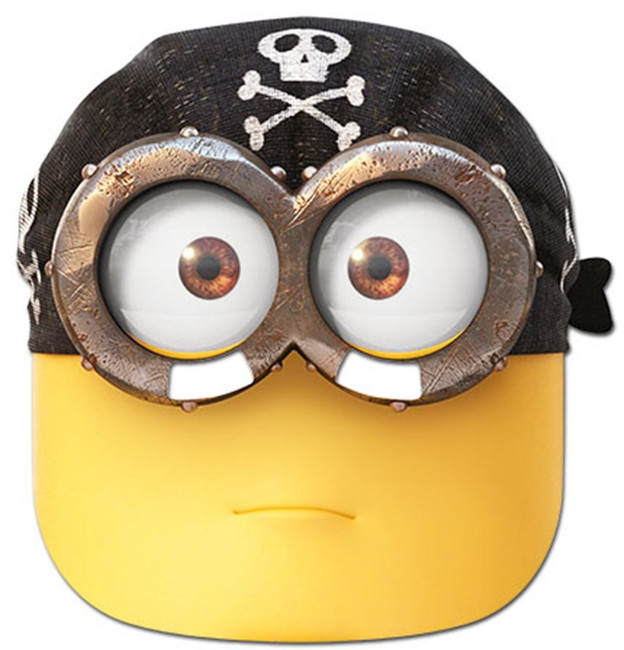 Eye Matie Minion Mask