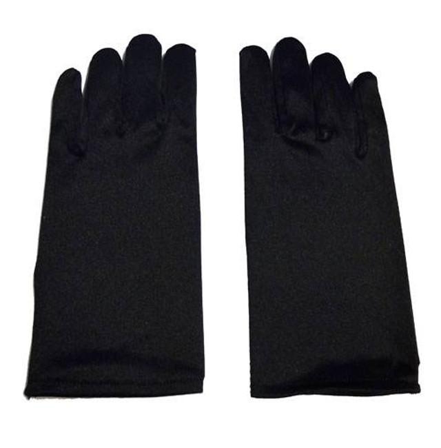 Childs Gloves. Black .
